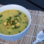 Creamy Thai Soup with Ginger, Chili and Garlic (Tom Kha Gai)