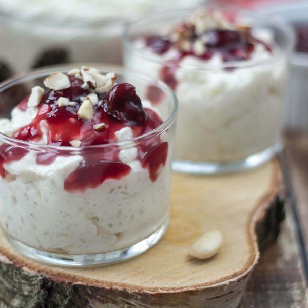 Risalamande – Danish Rice Dessert with Cream and Almonds