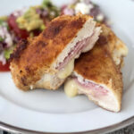 Chicken Cordon Bleu with Cheese and Ham
