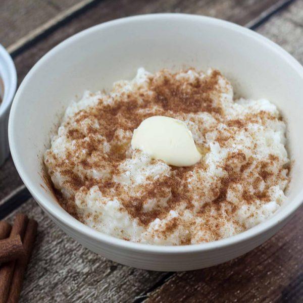 Danish Rice Pudding (Risengrød)