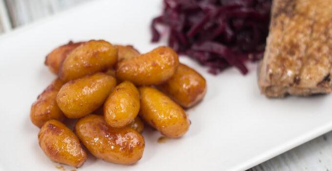 Danish Sugar Browned Potatoes (Brunede kartofler)