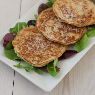 Cauliflower Pancakes with Parmesan