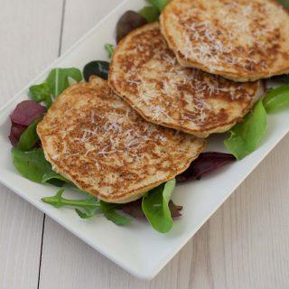 Cauliflower Pancakes with Parmesan