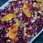 Red Cabbage Salad with Oranges and Pomegranate