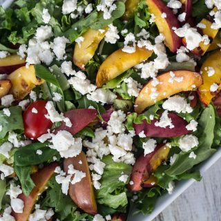 Salad with Grilled Nectarines
