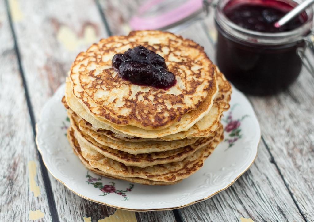 Danish Rice Pudding Pancakes (Klatkager)