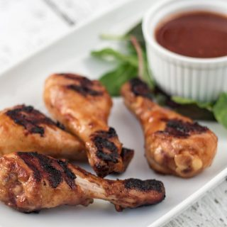 BBQ-Marinated Chicken Drumsticks