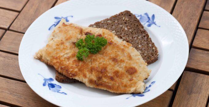 Pan-Fried Coalfish with Rye Bread