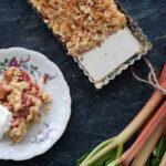 Rhubarb Crumble Pie