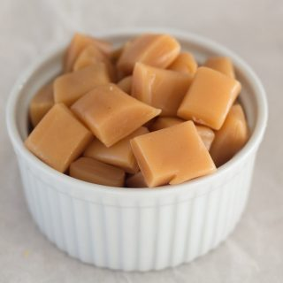 Super Easy Microwave Caramels