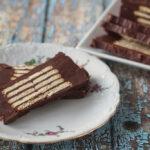 Danish Chocolate Biscuit Cake (Kiksekage)