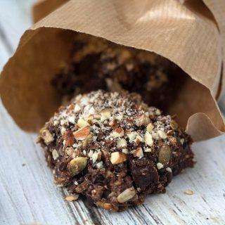 Danish Chocolate Rye Buns