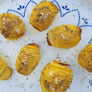 Swedish Hasselback Potatoes