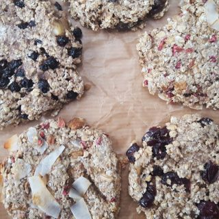 Healthy Banana-Oat Cookies