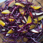 Red Cabbage, Orange and Apple Salad