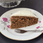 Squash Cake with Nuts and Cheese Topping