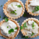 Danish Chicken and Asparagus Tartlets (Tarteletter)