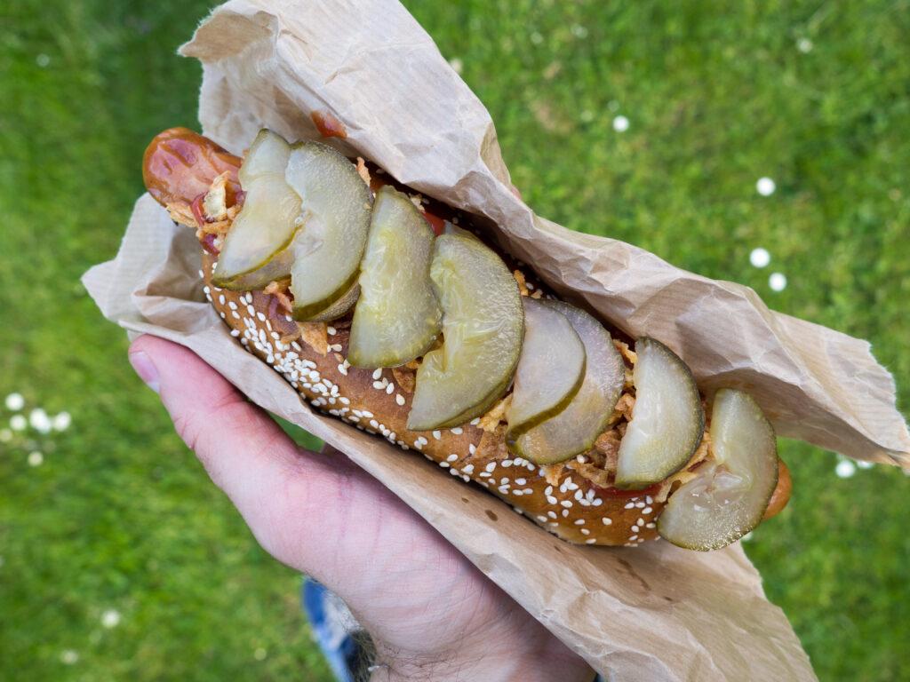 Recipe for Danish Hotdog