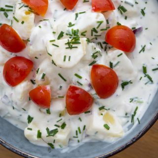 Danish Cold Potato Salad (Kold Kartoffelsalat)