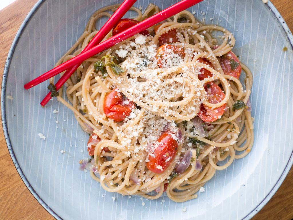 Recipe for One-pot Tomato Basil Pasta