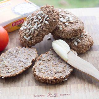 Nordic Rye Buns (Healthy bread)