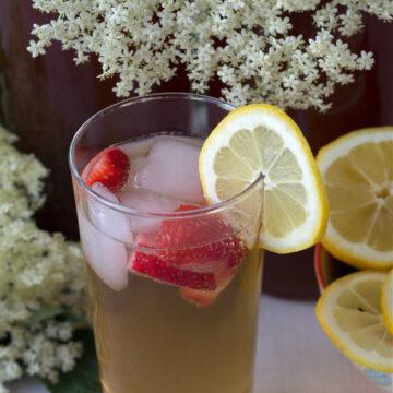 Recipe for Nordic Elderflower Juice