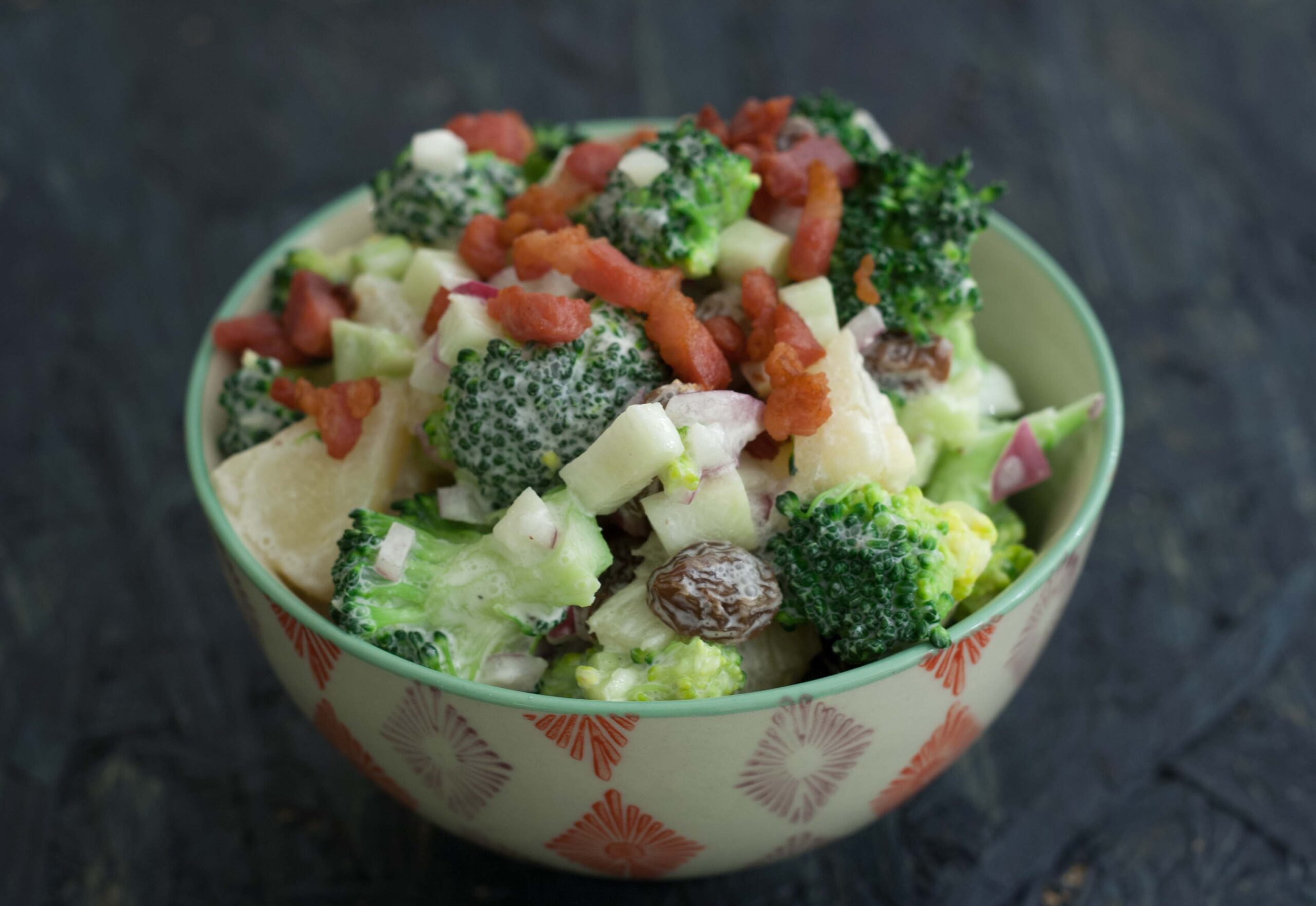 Recipe for Danish Broccoli Salad