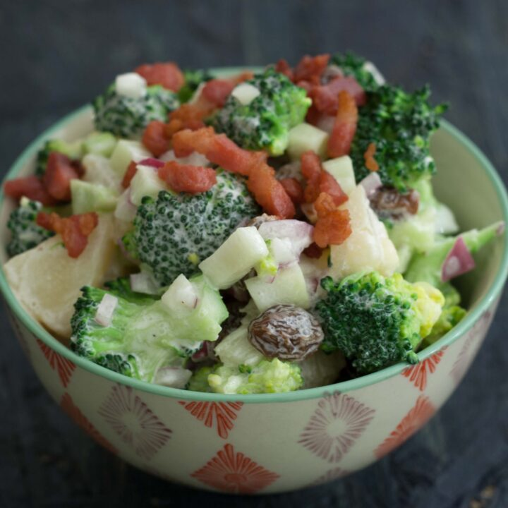Recipe for Danish Broccoli Salad