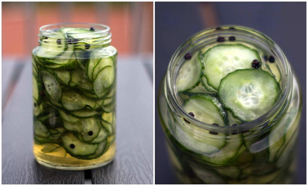 Recipe for Danish Pickled Cucumber (Agurksalat)