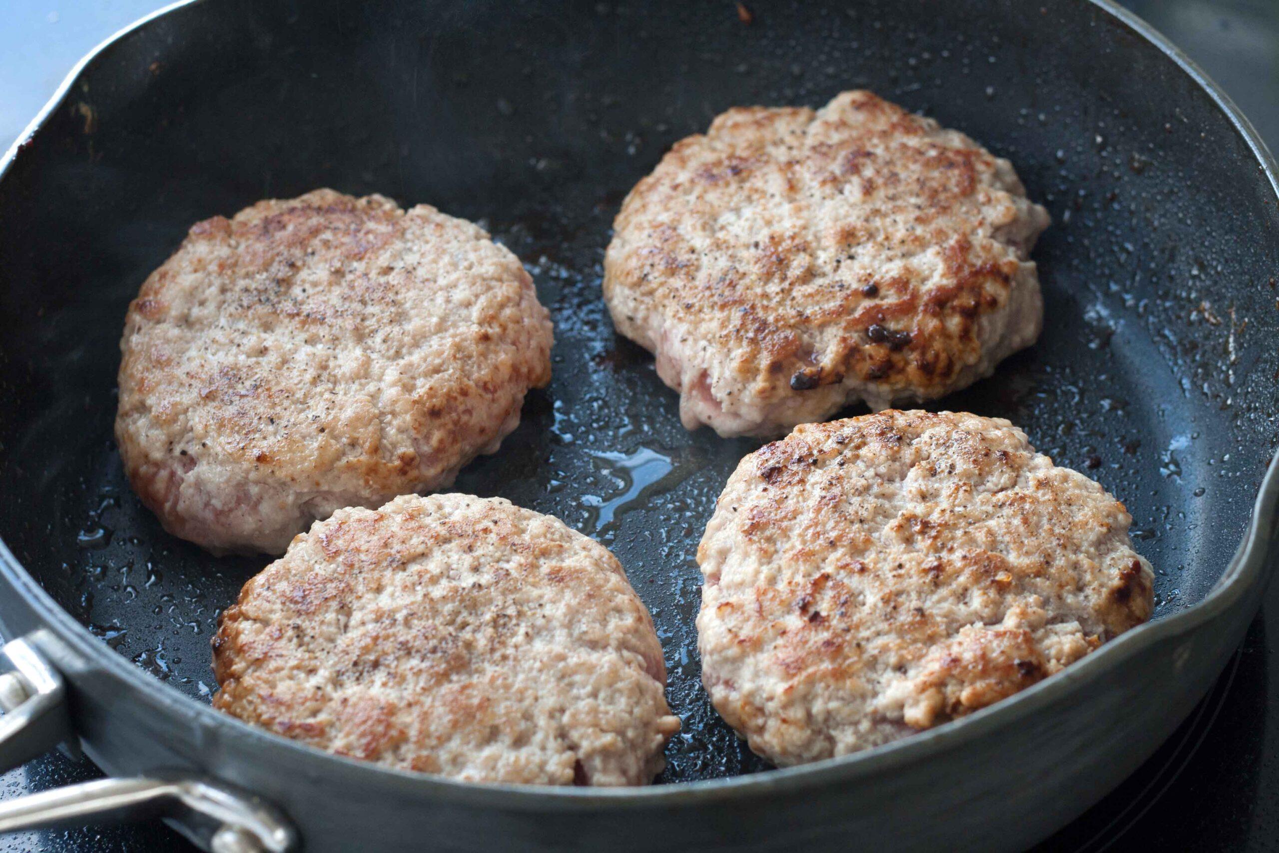 Recipe for Hawaii Pork Patties