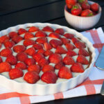 Recipe for Nordic Summer Strawberry Pie