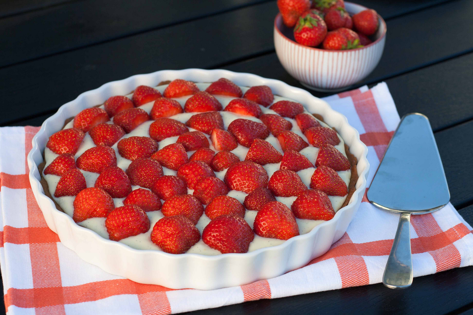 Recipe For Nordic Strawberry Pie Very Easy To Make And Super Delicious