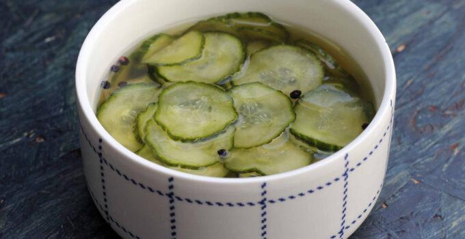 Cucumber Salad / Sliced Pickles