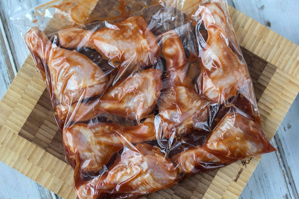 Recipe for Barbeque Marinated Chicken Drumsticks