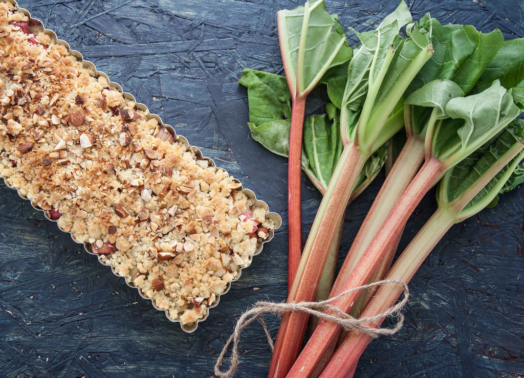 Recipe for Nordic Rhubarb Pie