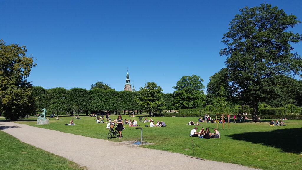 Copenhagen Kings garden (Kongens Have)