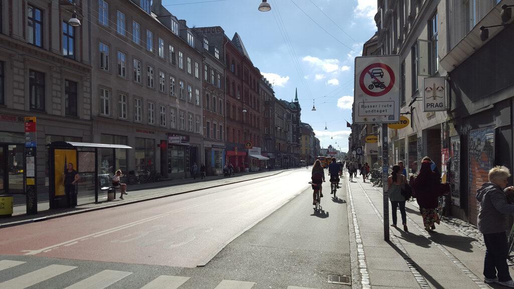 Copenhagen Norrebrogade (kebab places)