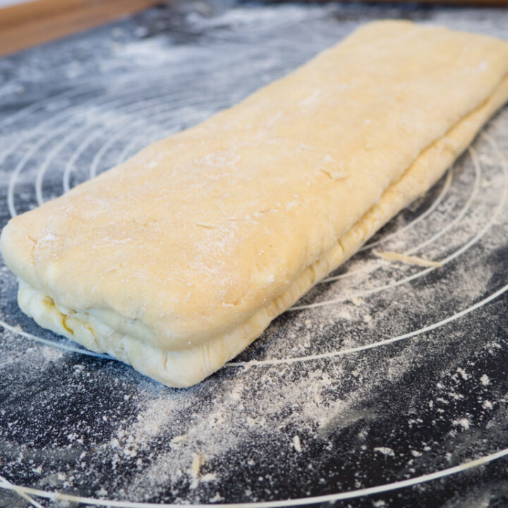 Recipe for Homemade Danish Pastry Dough