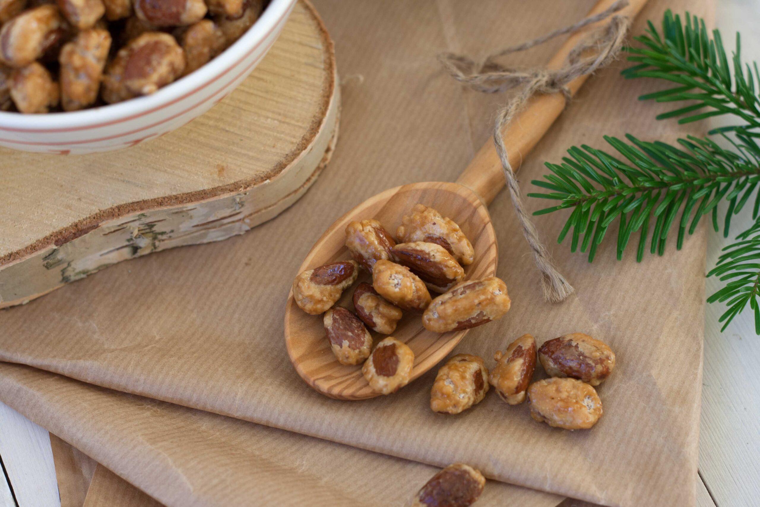 Recipe for Nordic Sugar Roasted Almonds