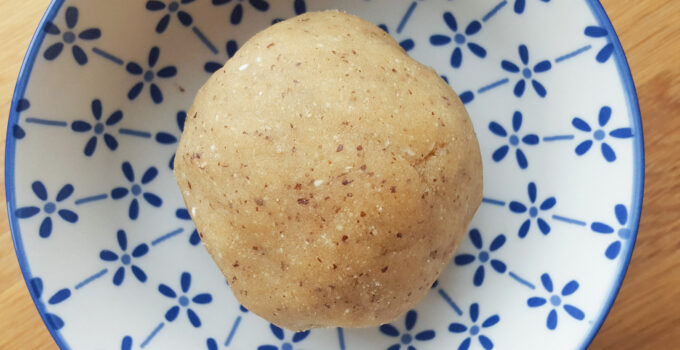 Marzipan without refined Sugar