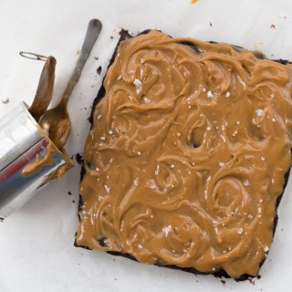 Recipe for Salted Dulce De Leche Brownie