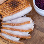 Recipe for Danish Roasted Pork with Cracklings