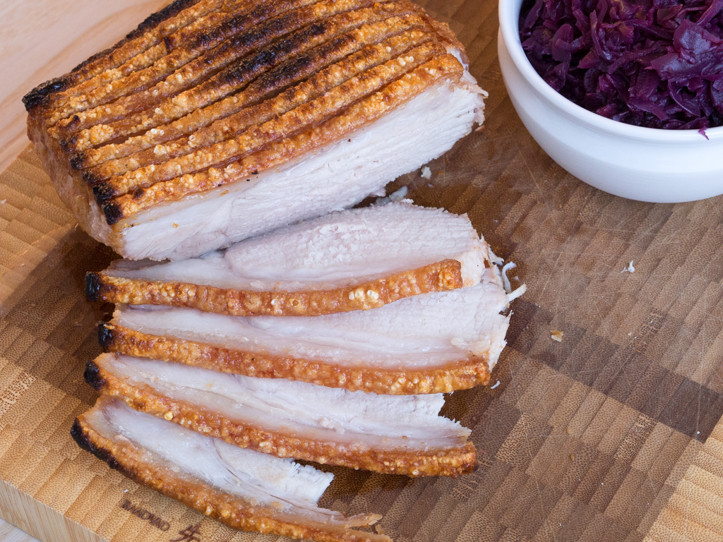 Nordic Roast Pork with Crackling (Flæskesteg) - The BEST recipe