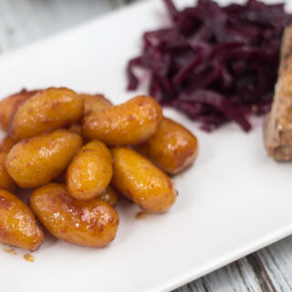 Recipe for Danish Sugar Browned Potatoes (Brunede Kartofler)