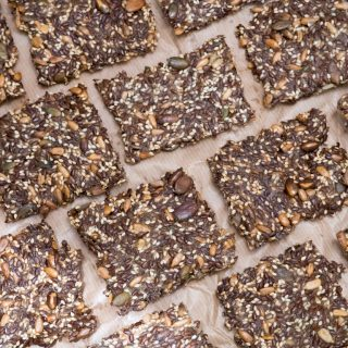 Recipe for Five Seeds Crackers