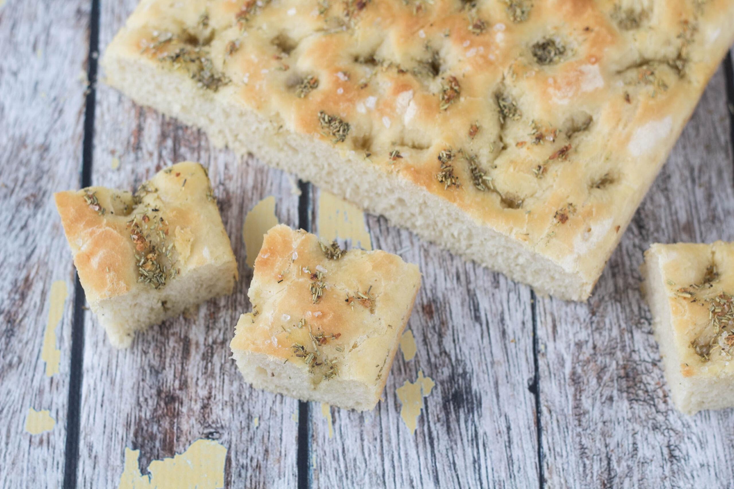 Recipe for Homemade Focaccia bread