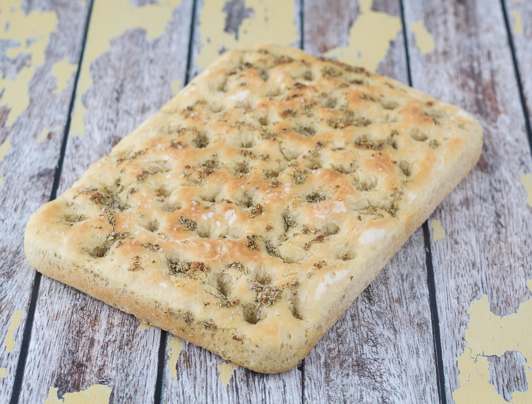 Recipe for Homemade Focaccia bread