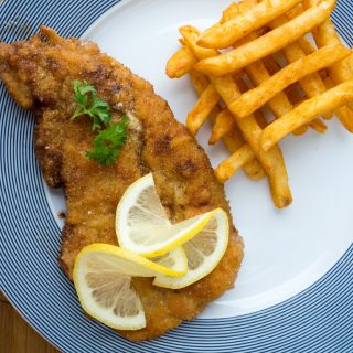 Recipe for Homemade German Pork Schnitzel