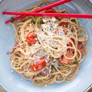 Recipe for One-pot Tomato Basil Pasta