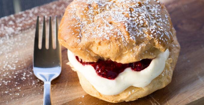Danish Choux Pastry (Vandbakkelser)
